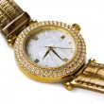 Gold watch — Stock Photo #6366998
