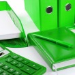 Stock Photo: Green business still life