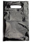 Black plastic bag — Stock Photo