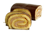 Roll cake — Stock Photo