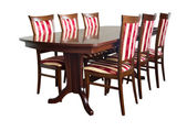 Dining room furniture — Stock Photo