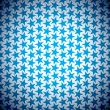 Blue star background — Vettoriali Stock