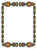Frame in the Russian style — Stock Vector