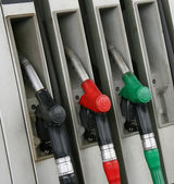 Gas pumps — Stock Photo