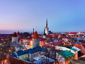 Old town of Tallinn Estonia — Stock Photo