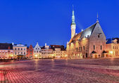 Old Town Hall in Tallinn — Stock Photo