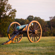 Cannons at Manassas Battlefield — Foto Stock