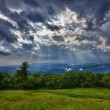 Stock Photo: Storm over Blue Ridge Mountains