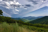 Storm over Blue Ridge Mountains — Stock Photo