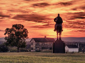 Stonewall Jackson at Manassas Battlefield — Stock Photo