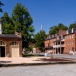Main street of Harpers Ferry a national park — Stock Photo