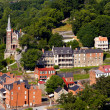 Aerial view Harpers Ferry national park — Stock Photo