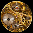 Stock fotografie: Interior of antique hand wown watch