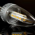 moderne led kaars lamp — Stockfoto