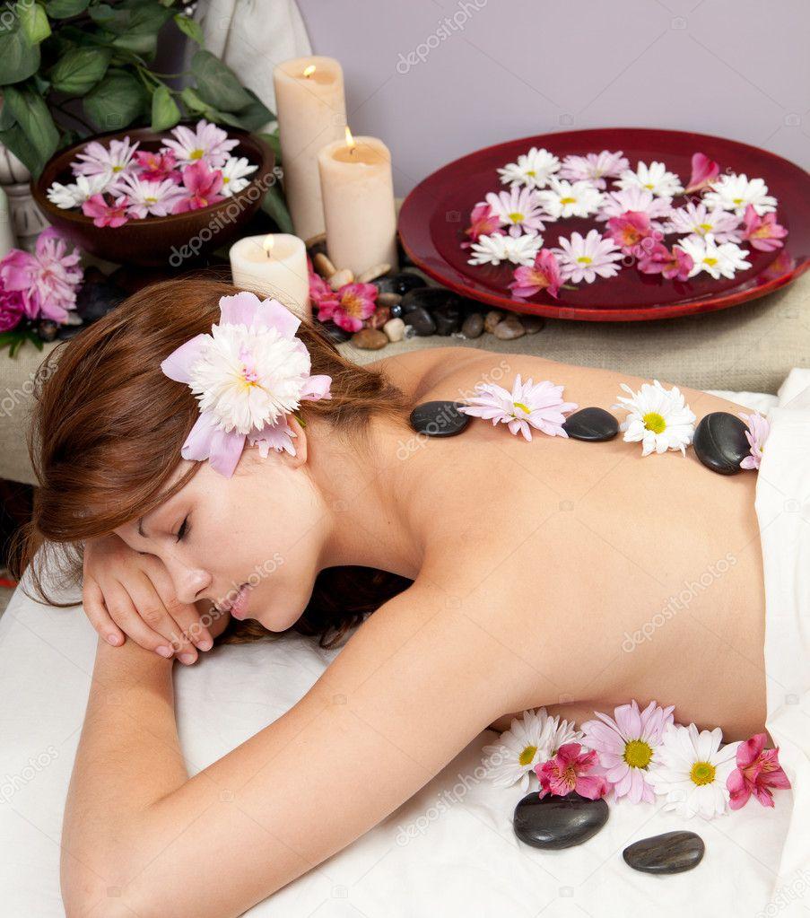 stock photo sexy massage.