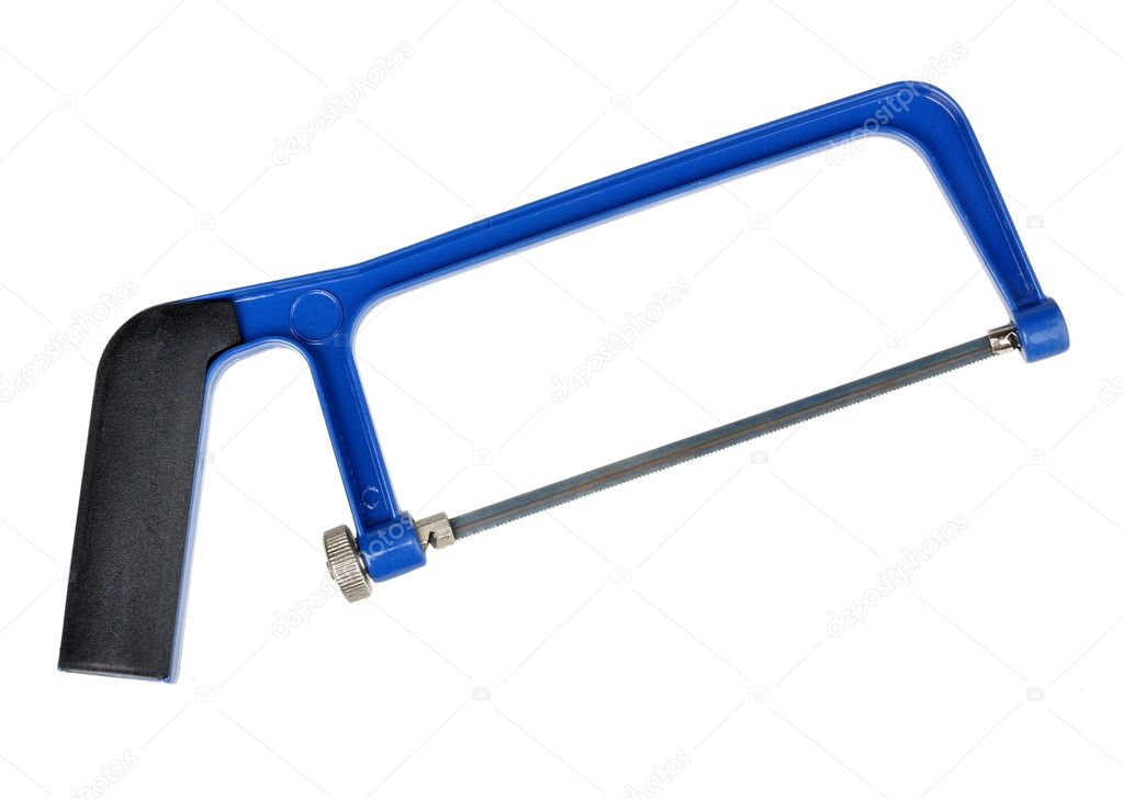 Blue saw — Stock Photo #5805064