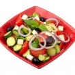Salad on a plate - Foto de Stock