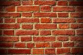 Brick background, vignetting — Stock Photo