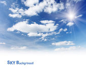 The sky — Stock Photo