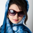 Young woman with sunglasses. — Stock Photo #6456833