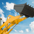 Stock Photo: Risen loader shovel