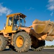 Front end loader machine - ストック写真