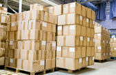 Production store warehouse — Stock Photo