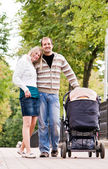 Young parents — Stock Photo