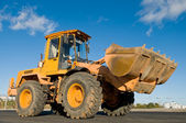 Front end loader machine — Stock Photo