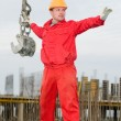Rigger builder with straps — Stock Photo #5421566