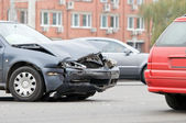 Car accident crash — Stock Photo