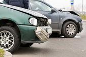 Car accident crash — Stock Photo