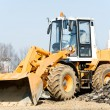 Front end loader machine — Stock Photo #5456995