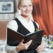 Restaurant manager woman at work place — Stock Photo #5457033