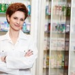 Royalty-Free Stock Photo: Pharmacy chemist woman in drugstore
