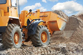 Wheel loader machine — Stock Photo