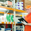 Worker at warehouse — Stock Photo #5482897