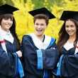 Royalty-Free Stock Photo: Happy graduation students