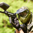 paintball player — Stock Photo #5745031
