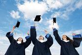Studenti laureati — Foto Stock