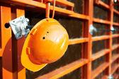 Bau-website-hintergrund — Stockfoto