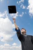 Graduate student — Stock Photo