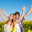 Happy young couple — Stock Photo #5912660