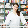 Pharmacy chemist woman in drugstore — Stock Photo #5933812