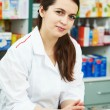 Pharmacy chemist woman in drugstore — Stock Photo #5934086