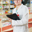 Pharmacy specialist in drugstore — Stock Photo #6091760