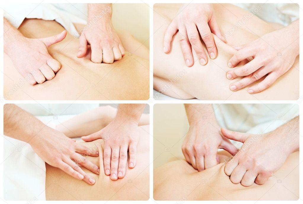 Как делать массаж простой в домашних условиях