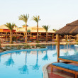 Stock Photo: Egyptian Hotel resort background