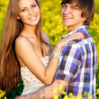 Happy young couple — Stock Photo #6494783