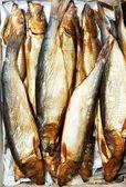 Smoked herring fish — Stock Photo